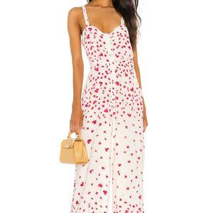 TJD | NEW Falling For you Jumpsuit in Floral Red S